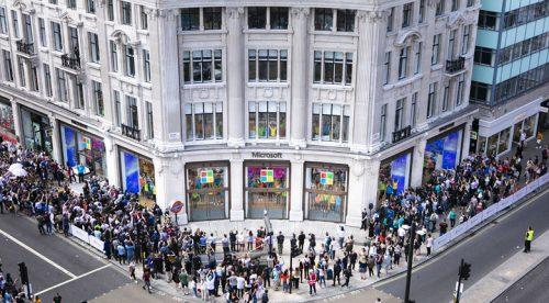 Microsoft London Oxford Street