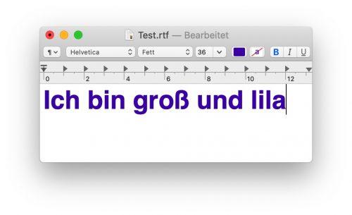 Lila Text