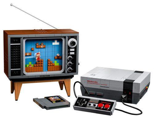 Nintendo Entertainment System Aus Lego