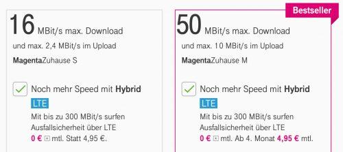 Telekom Lte Hybrid Option Magentazuhause
