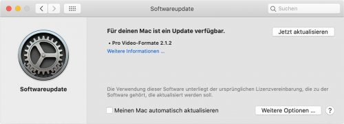 Pro Video Formate 2 1 2 Update