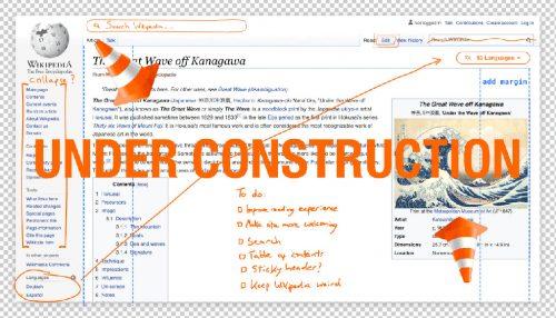 Wikipedia Under Construction