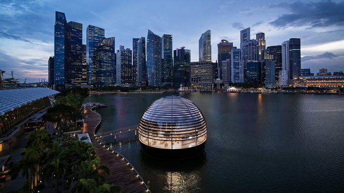 Apple Marina Bay Sands Panorama