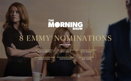 Apple Tv Morning Show Emmy Nominations