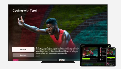 Apple Watch Fitness Plus Apple Tv