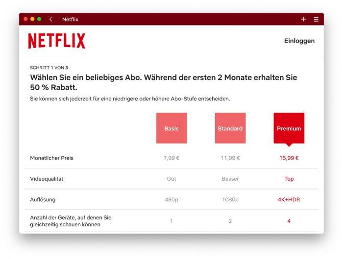 Netflix Kosten Im Monat
