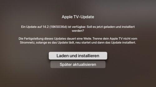 Apple Tv Update Screenshot