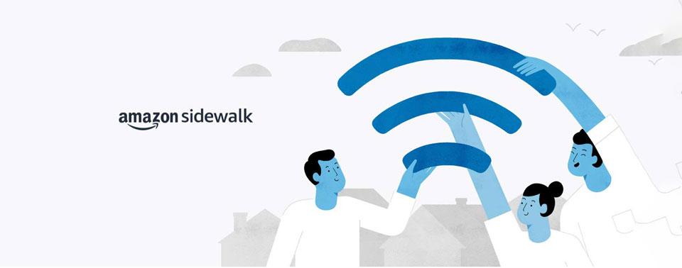Amazon Sidewalk: Echos aus der Nachbarschaft vernetzen sich